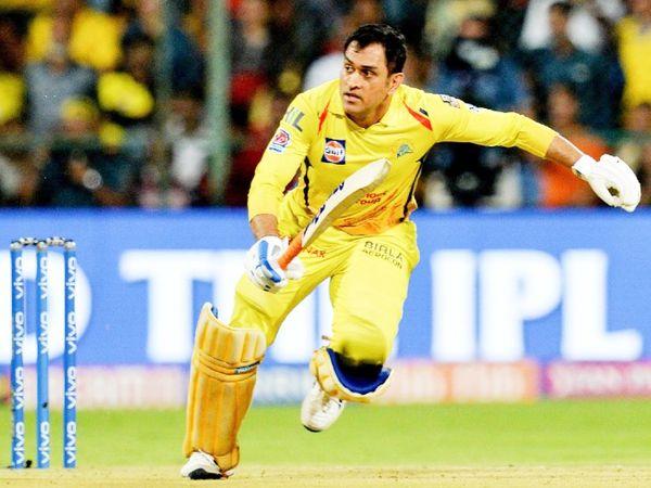 चेन्नई सुपर किंग्स के कप्तान महेंद्र सिंह धोनी ने IPL में अब तक 204 मैच खेले, जिसमें 40.99 की औसत से 4632 रन बनाए। - Dainik Bhaskar