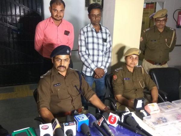 सोढाला एसीपी भोपाल सिंह भाटी और श्याम नगर थानाप्रभारी संतरा मीणा के सुपरविजन में पकड़ा गया गैंग