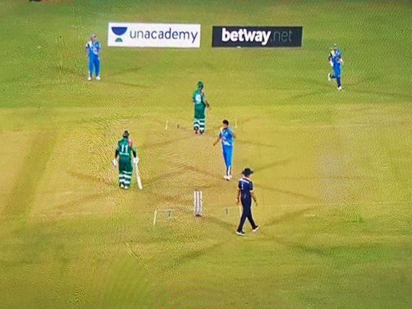 Road Safety World Cricket Series in Raipur Compete between India and Bangladesh | बांग्लादेश ने टॉस जीतकर पहले बल्लेबाजी की, मुख्यमंत्री भूपेश बघेल ने मैच का उद्घाटन किया, क्रिकेट का रोमांच शुरू