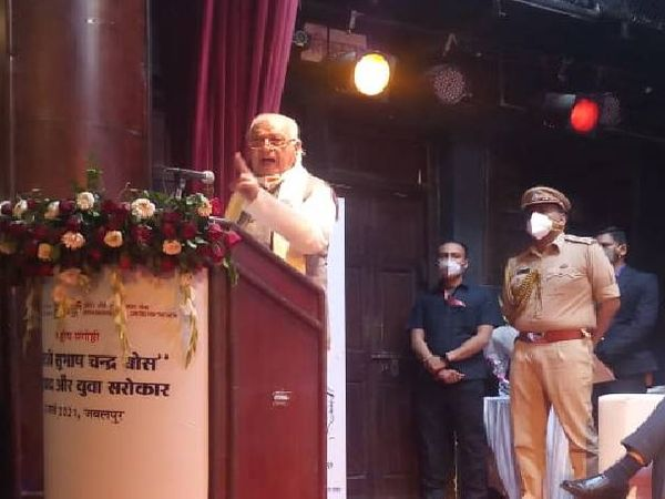 125th birth anniversary year of Netaji: Kerala Governor Arif Mohammad Khan said that the British left the country a year ago due to fear of Netaji, there was no honor in history. Funny Jokes