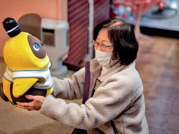 People buying expensive robots instead of pets.  - Dainik Bhaskar