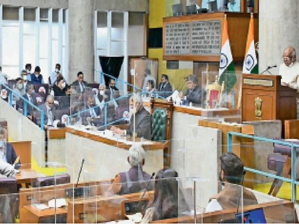 The budget session of the assembly began on Friday with the address of Governor Satyadev Narayan Arya.  He said that in the year 2020-21, 688 kilometers have been spent on roads at a cost of Rs 383 crore.  In the year 2021-22, 1217 km long roads will be constructed at a cost of 550 crores.  This year, 193 million to 323 km of roads will be widened.  - Dainik Bhaskar