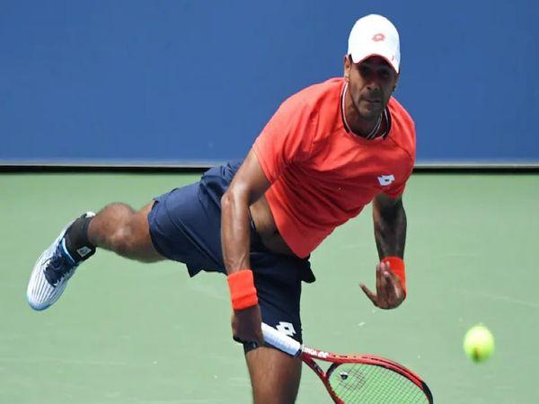 अर्जेंटीना ओपन टेनिस में सुमित नागल ने दूसरे राउंड में वर्ल्ड नंबर-22 क्रिश्चियन गरिंटो को हरा कर क्वार्टर फाइनल में प्रवेश किया था। - Dainik Bhaskar