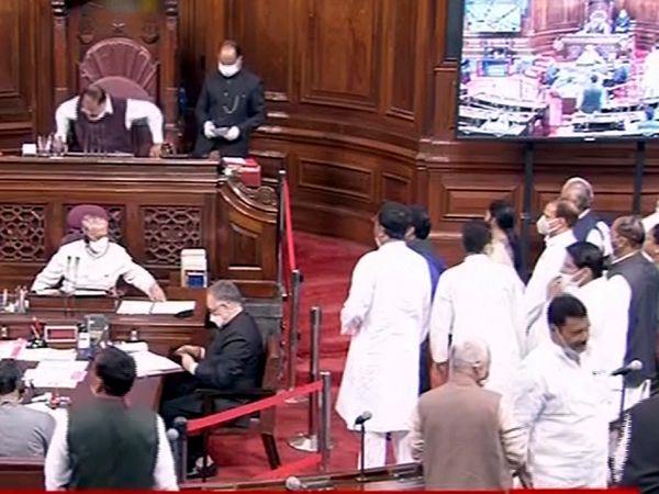 संसद का यह सेशन 8 अप्रैल तक चलेगा। हालांकि, तमिलनाडु, पश्चिम बंगाल, केरल, असम और पुडुचेरी में विधानसभा चुनाव होने हैं, ऐसे में सत्र में कटौती करने पर विचार हो रहा है। - Dainik Bhaskar