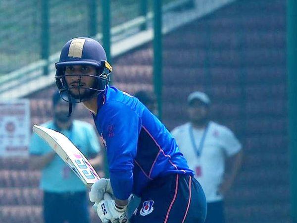 यूपी के विकेटकीपर बल्लेबाज उपेंद्र यादव।