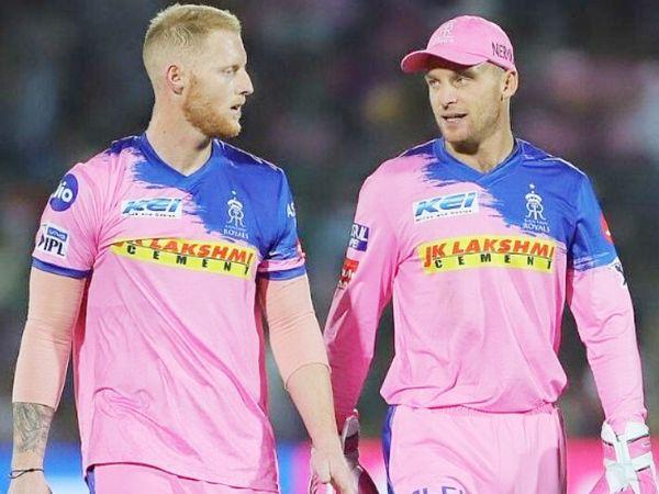 बेन स्टोक्स (बाएं) और जोस बटलर (दाएं) दोनों IPL में राजस्थान रॉयल्स की तरफ से खेलते हैं। (फाइल फोटो) - Dainik Bhaskar