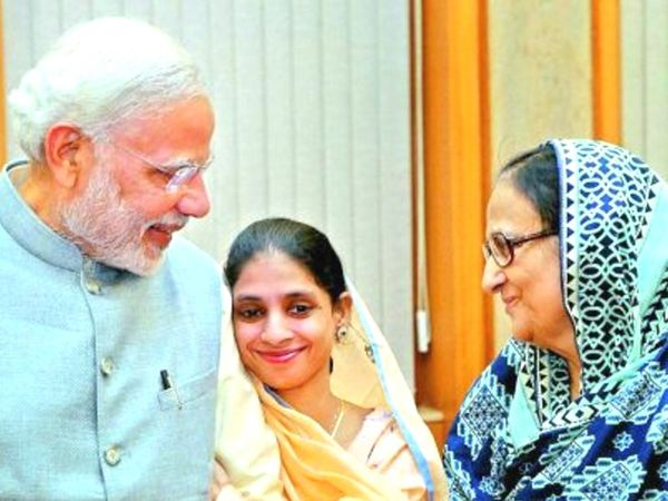 गीता जब भारत पहुंची तो उनसे प्रधानमंत्री नरेंद्र मोदी ने भी मुलाकात की थी।