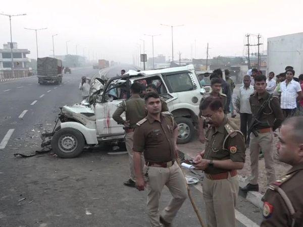 तेज धमाका सुनकर स्थानीय लोग मौके पर पहुंचे और उन्होंने पुलिस को हादसे की सूचना दी।