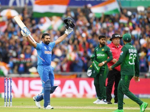 भारत-पाकिस्तान टीम पिछली बार 2019 वनडे वर्ल्ड कप में आमने-सामने आई थीं। तब इंग्लैंड के मेनचेस्टर वनडे में टीम इंडिया ने पाकिस्तान को 89 रन से शिकस्त दी थी। - Dainik Bhaskar