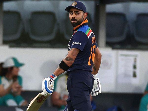 कोहली 28 बार इंटरनेशनल क्रिकेट में जीरो पर आउट हुए। जबकि टी-20 में तीसरी बार जीरो पर आउट हुए। - Dainik Bhaskar