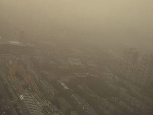 तस्वीर चीन की राजधानी सेंट्रल बीजिंग की है।