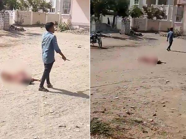 यह घटना मारुति नगर इलाके में हुई। बहन यहां से गुजर रही थी, तभी भाई ने उस पर हमला कर दिया।