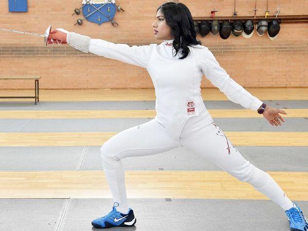 तलवारबाज भवानी देवी भी ओलिंपिक के लिए क्वालिफाई कर चुकीं।
