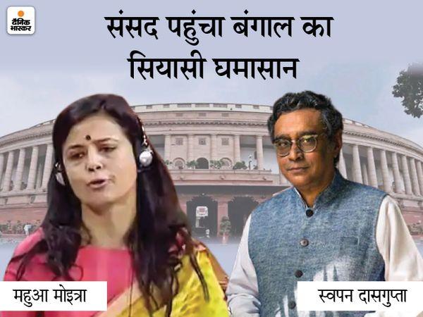 बंगाल विधानसभा चुनाव के लिए भाजपा ने बंगाल की राजनीति के बड़े चेहरे स्वपन दासगुप्ता को हुगली की तारकेश्वर विधानसभा सीट से टिकट दिया है। - Dainik Bhaskar