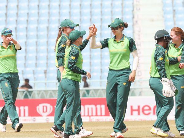 साउथ अफ्रीका ने सीरीज भी 4-1 से जीत ली। - Dainik Bhaskar