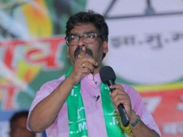 विपक्ष पर हमला करने के साथ हेमंत सोरेन ने अपने सरकार की नीतियों और योजनाओं की भी जानकारी दी। - Dainik Bhaskar