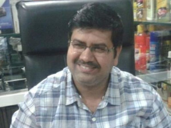This photo is from Mansukh Hiren.  His body was found in the Gulf of Mumbra on 5 March.  The Maharashtra ATS was investigating the case.  -File photo.  - Dainik Bhaskar