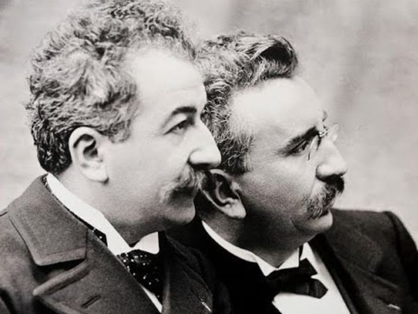 On March 22, 1895, the Lumier Brothers made a public appearance in Paris for the first time.