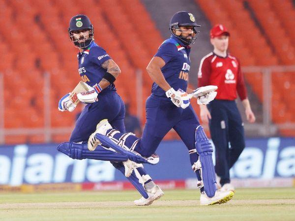 आखिरी मैच में विराट कोहली और रोहित शर्मा ने 94 रन की ओपनिंग पार्टनरशिप की। यह सीरीज में किसी भी टीम की बेस्ट ओपनिंग पार्टनरशिप रही।