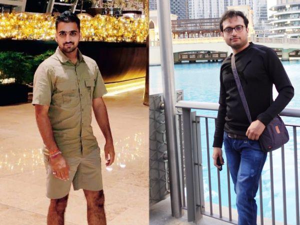 दीपक धायल और शाहवर हसन ने जनवरी 2020 में ट्रैवल टेक स्टार्टअप 'किंग हिल्स' की शुरुआत की थी। - Dainik Bhaskar