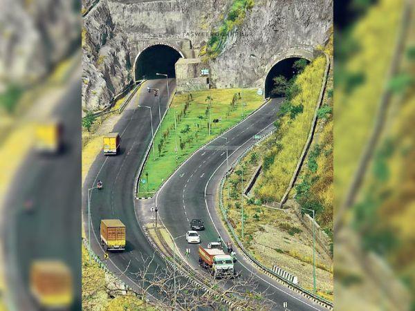चिड़वा टनल, उदयपुर। लंबाई 0.8 किमी और खर्च 100 करोड़ ।