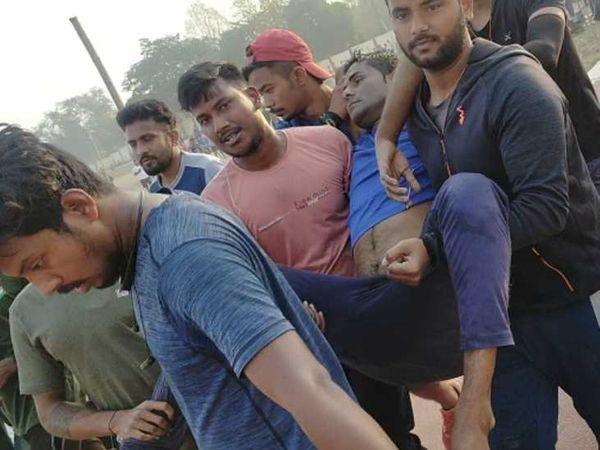 काश! ये लोग उमेश को थोड़ा पहले अस्पताल ले जाते - Dainik Bhaskar