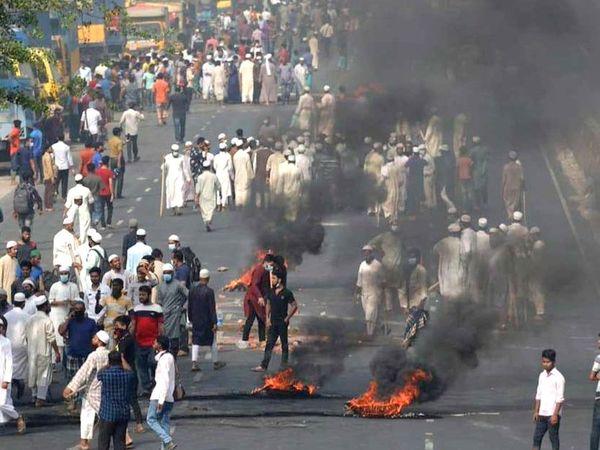 कट्टरपंथी इस्लामी संगठन हिफाजत-ए-इस्लाम के नेता अब हिंसा पर उतर आए हैं।