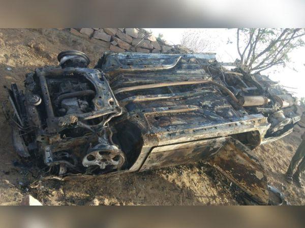 हादसा नागौर रोड बोडिंद के पास हुआ।
