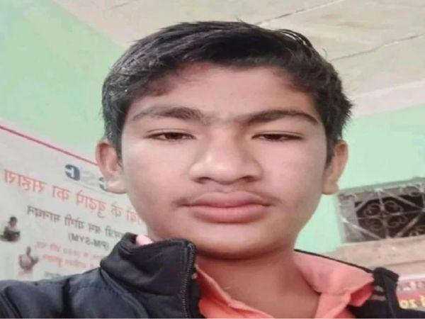 गाली देने पर छात्र ने वजह पूछी तो गोली मार दिया। मृतक विनय की फाइल फोटो। - Dainik Bhaskar