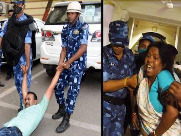 विधानसभा में हुई घटना की फाइल फोटो। - Dainik Bhaskar