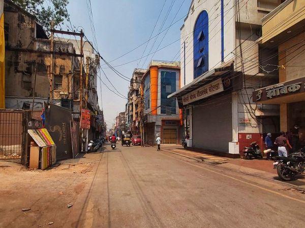 सदर में डेढ़ सौ साल में पहली बार सेठजी की बारात नहीं, न सड़क पर रंग-गुलाल - Dainik Bhaskar
