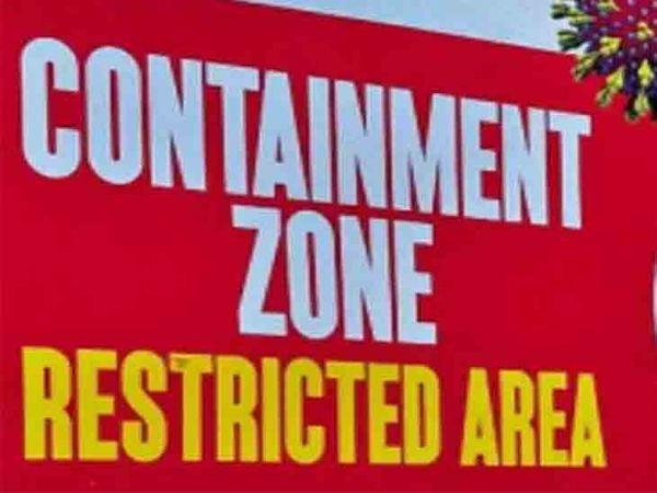 शहर में अब कंटेनमेंट जोन की संख्या 50 हो गई है। डेमो फोटो - Dainik Bhaskar