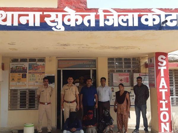 फाइल फोटो -मामले में पुलिसअबतक 4 नाबालिग समेत 31 आरोपी को पकड़ चुकी हैं - Dainik Bhaskar