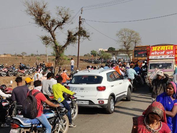 बुरहानपुर में कोरोना गाइडलाइन का उल्लंघन करने पर 45 कारोबारियों के खिलाफ केस दर्ज किया गया। - Dainik Bhaskar