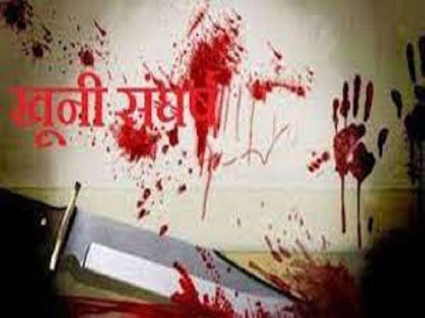 घायलों को सिविल अस्पताल में भर्ती कराया गया है। पुलिस मामले की जांच कर रही है। - Dainik Bhaskar