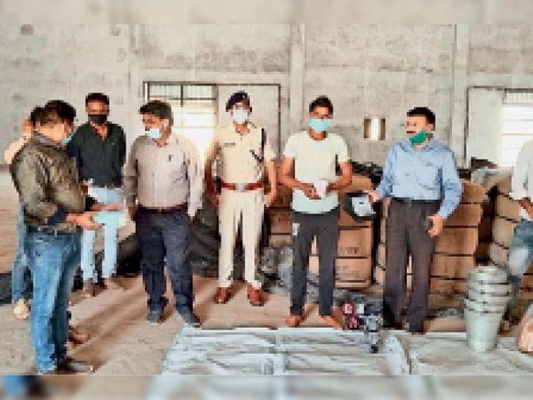 अफसरों ने किया फसल खरीदी केंद्रों का निरीक्षण, दिए जरूरी निर्देश - Dainik Bhaskar