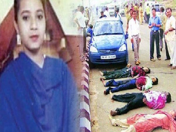 15 जून 2004 को अहमदाबाद में कोतरपुर वाटरवर्क्स के पास एनकाउंटर में इशरत जहां (बाएं), जावेद शेख, अमजद राम और जीशान जौहर मारे गए थे।- फाइल फोटो। - Dainik Bhaskar