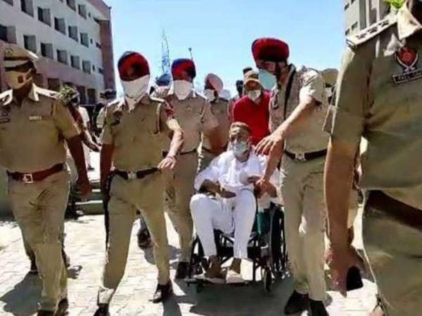 कोर्ट ने इस मामले में अगली सुनवाई 12 अप्रैल तय करते हुए अंसारी को फिर से रोपड़ जेल भेज दिया। उत्तर प्रदेश पुलिस को खाली हाथ लौटना पड़ा है। - Dainik Bhaskar