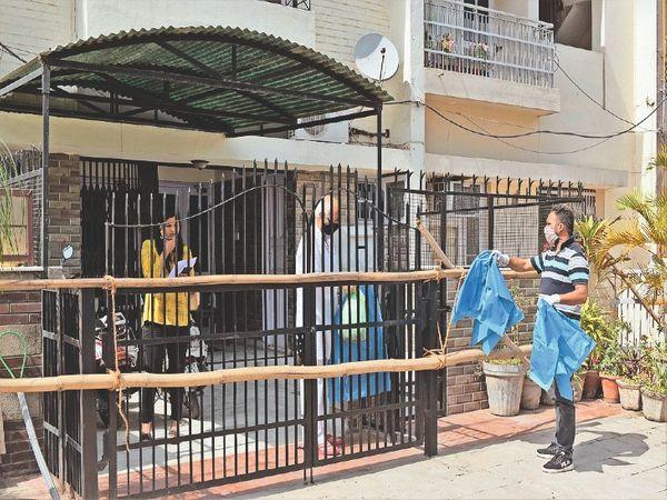 कोरोना की घर में एंट्री तो आना-जाना बंद हुआ - Dainik Bhaskar