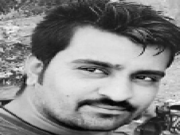 मृतक जितेंद्र उर्फ जीतू - Dainik Bhaskar