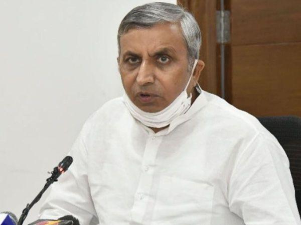 कृषि एवं किसान कल्याण मंत्री जेपी दलाल - Dainik Bhaskar