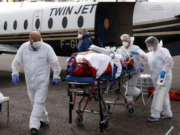 फ्रांस में कोरोना के हालात बिगड़ते जा रहे हैं। यहां कुल संक्रमितों का आंकड़ा 46.46 लाख के पहुंच चुका है, जबकि यहां कोराना से अब तक 95,502 लोगों की मौत हो चुकी है। - Dainik Bhaskar