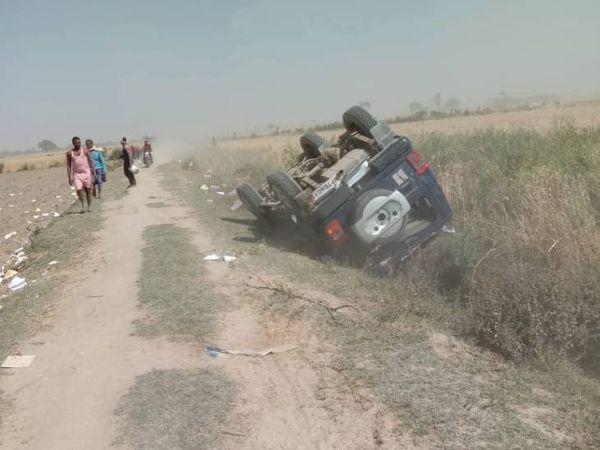 UP Prayagraj Weat Crop Fire Update; Villagers Attack Police Team, Three Injured | खेत में आग लगने की सूचना पर देर से पहुंचने लिए ग्रामीणों ने पुलिसकर्मयों को पीटा, इंस्पेक्टर समेत 3 घायल