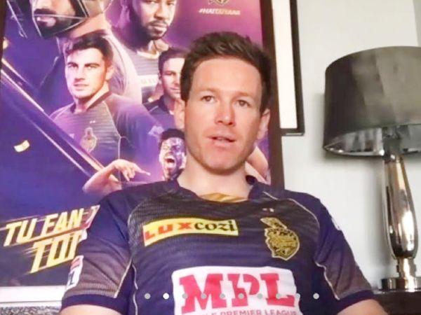 मोर्गन को पिछले साल बीच IPL में KKR का कप्तान नियुक्त किया गया था। उन्होंने दिनेश कार्तिक की जगह ली थी। - Dainik Bhaskar