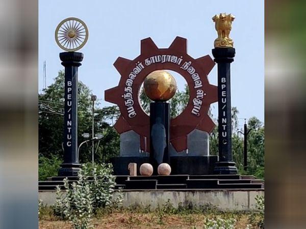 ये तस्वीर भारत सरकार की नवरत्न कंपनियों में से एक तिरुचिरापल्ली स्थित भारत हेवी इलेक्ट्रिकल्स लिमिटेड की है।