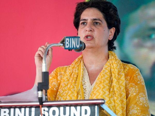केरल में चल रहे चुनाव प्रचार के बीच प्रियंका गांधी ने बीते दिनों कोल्लम में रैली की थी।