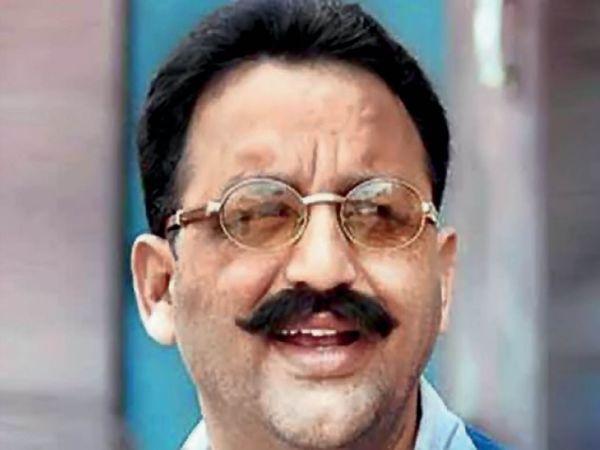 गैंगस्टर मुख्तार अंसारी पंजाब की जेल में बंद है। - Dainik Bhaskar