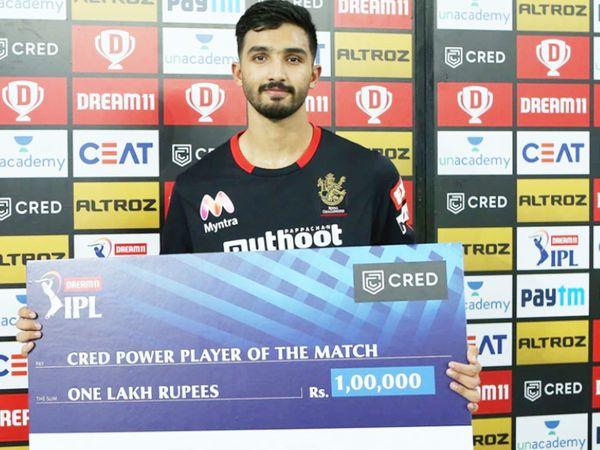 पडिक्कल ने पिछले सीजन में IPL में डेब्यू किया था। उन्होंने RCB के लिए 15 मैच में 124.80 के स्ट्राइक रेट से 473 रन बनाए थे। - Dainik Bhaskar