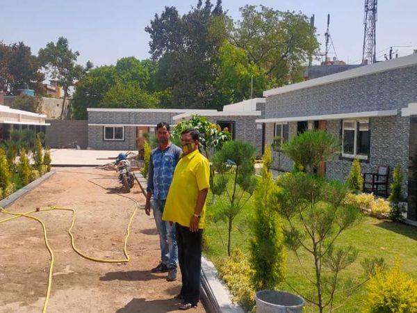 अप्रैल के अंत तक निर्माण कार्य पूरा हो जाएगा।