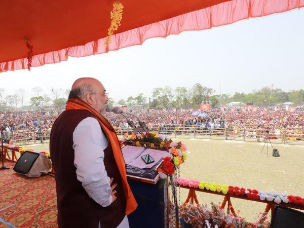 हाल ही में गृहमंत्री अमित शाह ने कूचबिहार में रैली की थी, जहां उन्होंने राजवंशी समुदाय के लिए कई वादे किए।